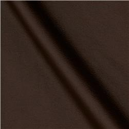 Malore Faux Leather Brown Fabric