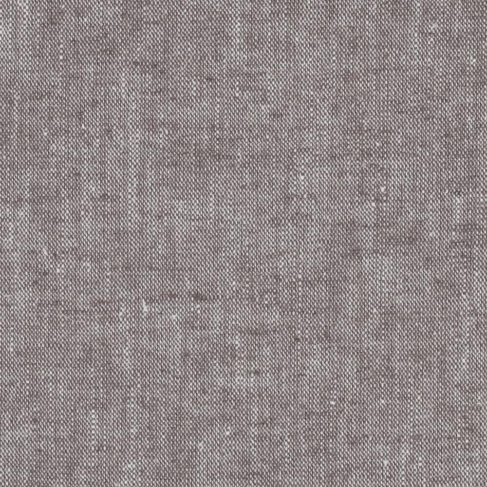 Kaufman Chambray Stretch Linen Cocoa
