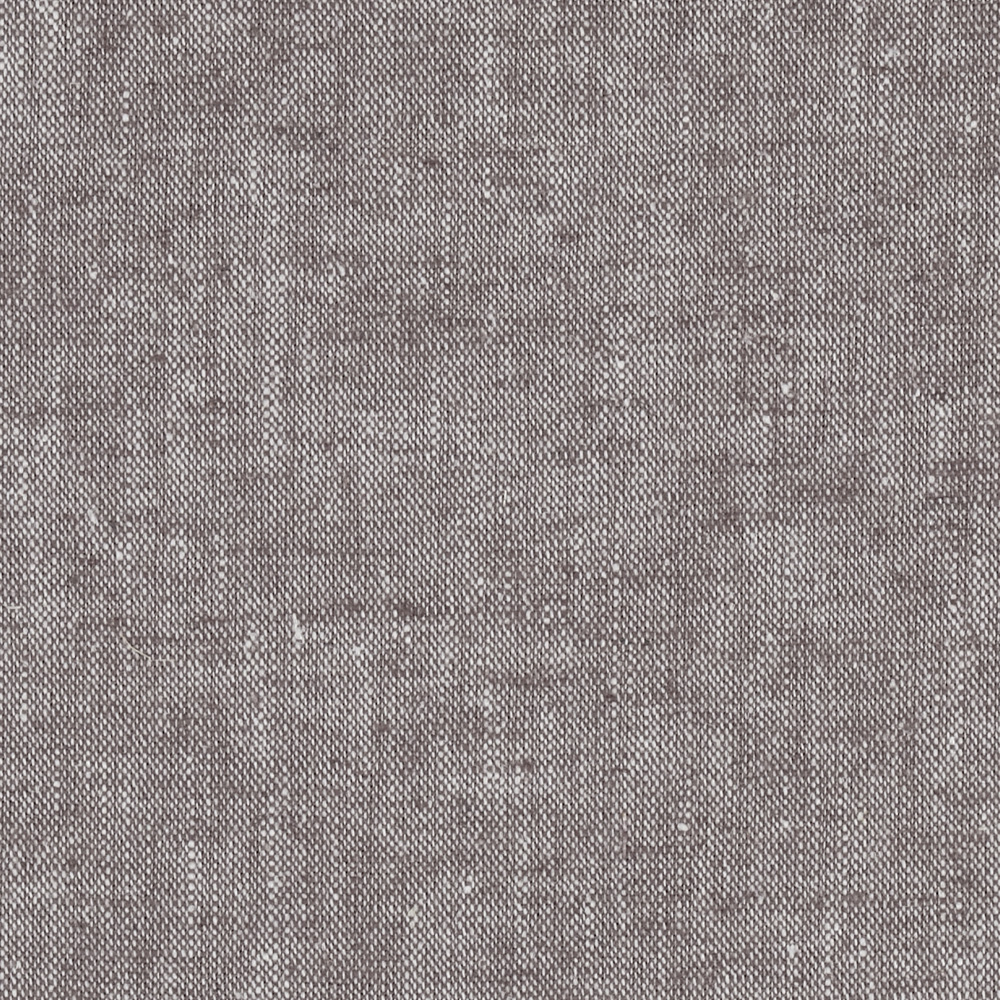 Kaufman Chambray Stretch Linen Cocoa Fabric