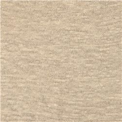 Capri Linen Jersey Knit Taupe