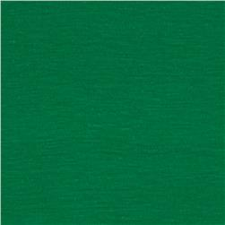 Cotton Blend Slub Jersey Knit Green