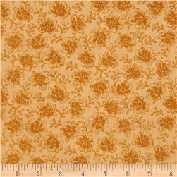 Floral Bouquet Vine Tan