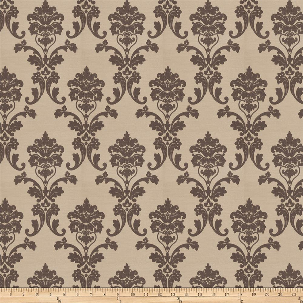 Trend 03293 jacquard damask gray discount designer for Jacquard fabric