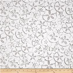 Kanvas White Out Sand Dollars Taupe/White