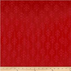 Indian Batik East Side Dots Red
