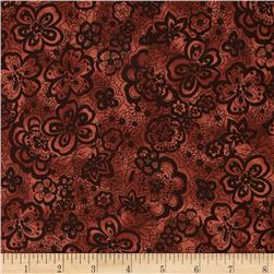 "108"" Wide Quilt Back Isadora Chocolate"