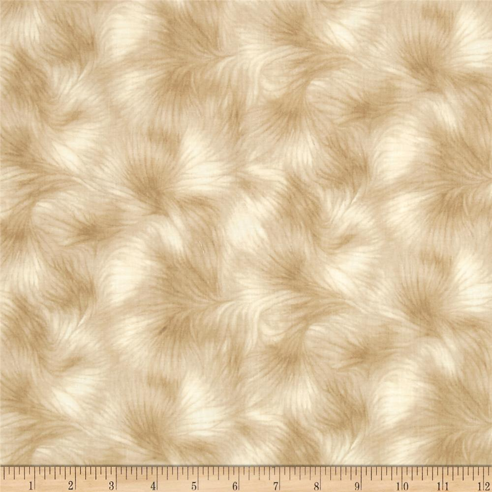 Timeless Treasures Viola Texture Tan