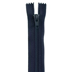 14'' Poly All Purpose Zipper Navy Blue