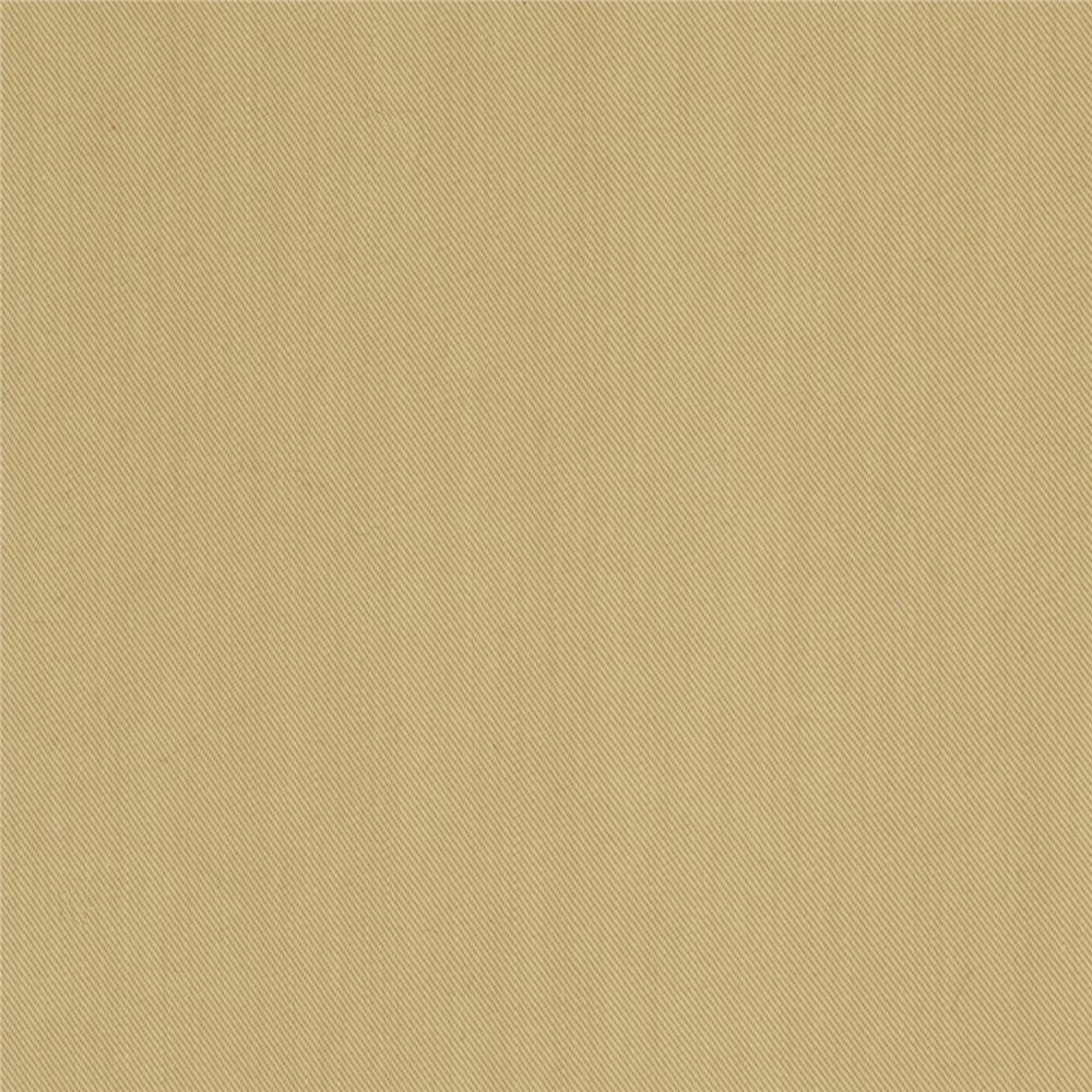 Sueded Cotton Blend Gabardine Wheat