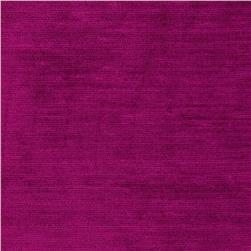 Ramtex Empress Textured Velvet Very Berry