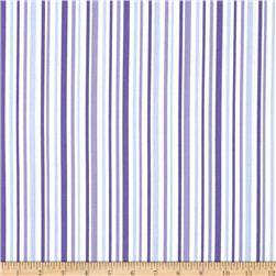 Moda Hi De Ho Stripe Purple