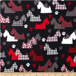 Great Scotts Flannel Scotties Black