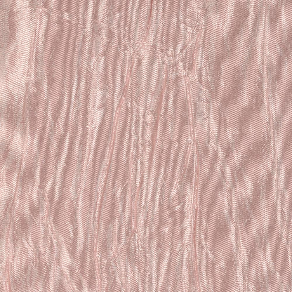 Crushed Taffeta Iridescent Blush Pink