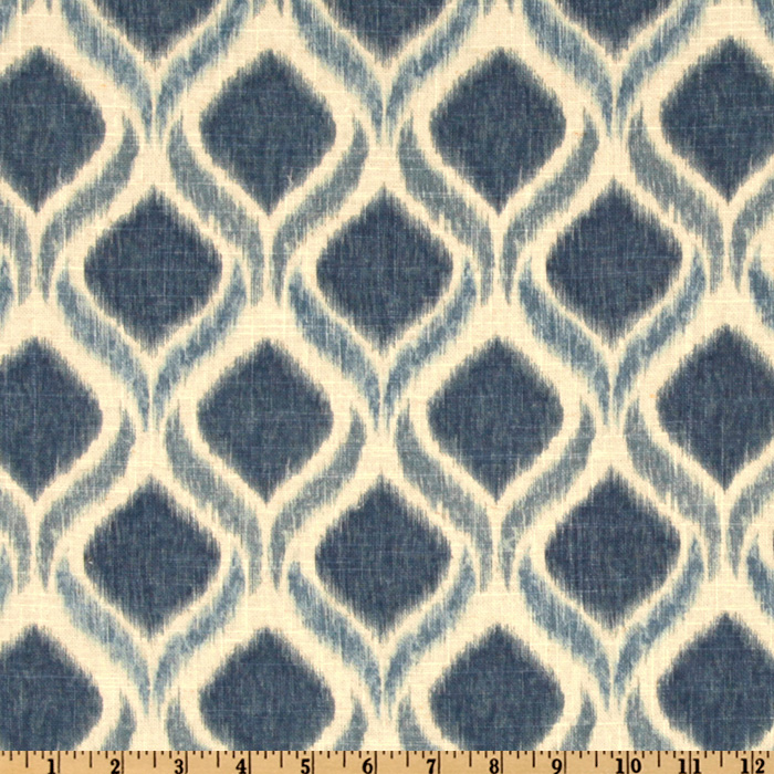 Swavelle/Mill Creek Giorgio Atlantic Blue Fabric