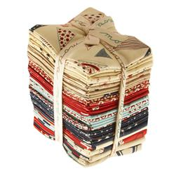 Moda Red, White & Free Fat Quarters