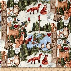 Susan Winget Old World Christmas Woodland Thoughts Multi