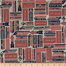 Tim Holtz Eclectic Elements Airmail Labels
