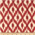 Waverly Williamsburg Dedra Ikat Ruby