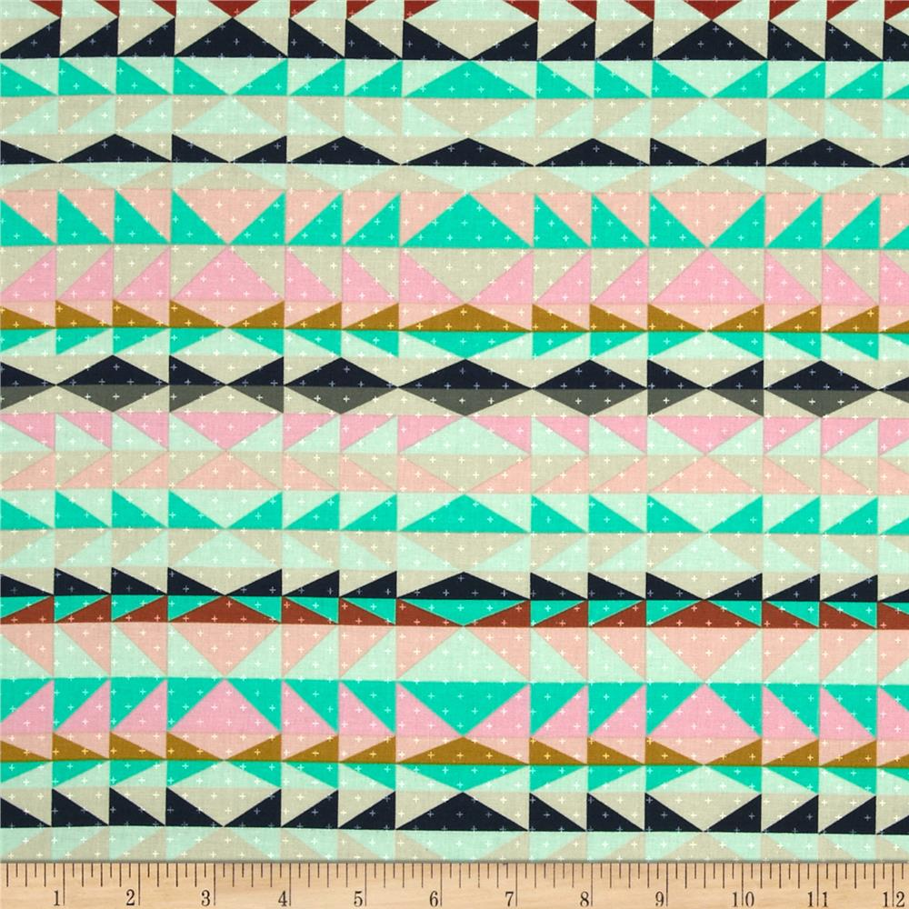 Cotton + Steel Mesa Overlook Serape Pink