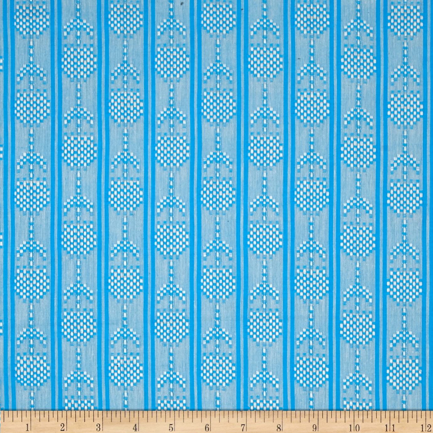 Anna Maria Horner Loominous Shirting Seedlings Aqua Fabric by Westminster in USA