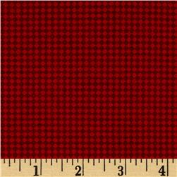 Scandi 3 Mini Harliquin Linen/Red