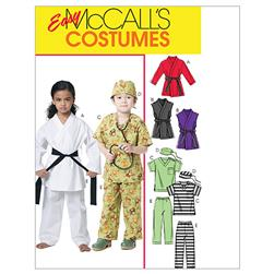 McCall's Children's/Boys'/Girls' Costumes Pattern M6184 Size CDD