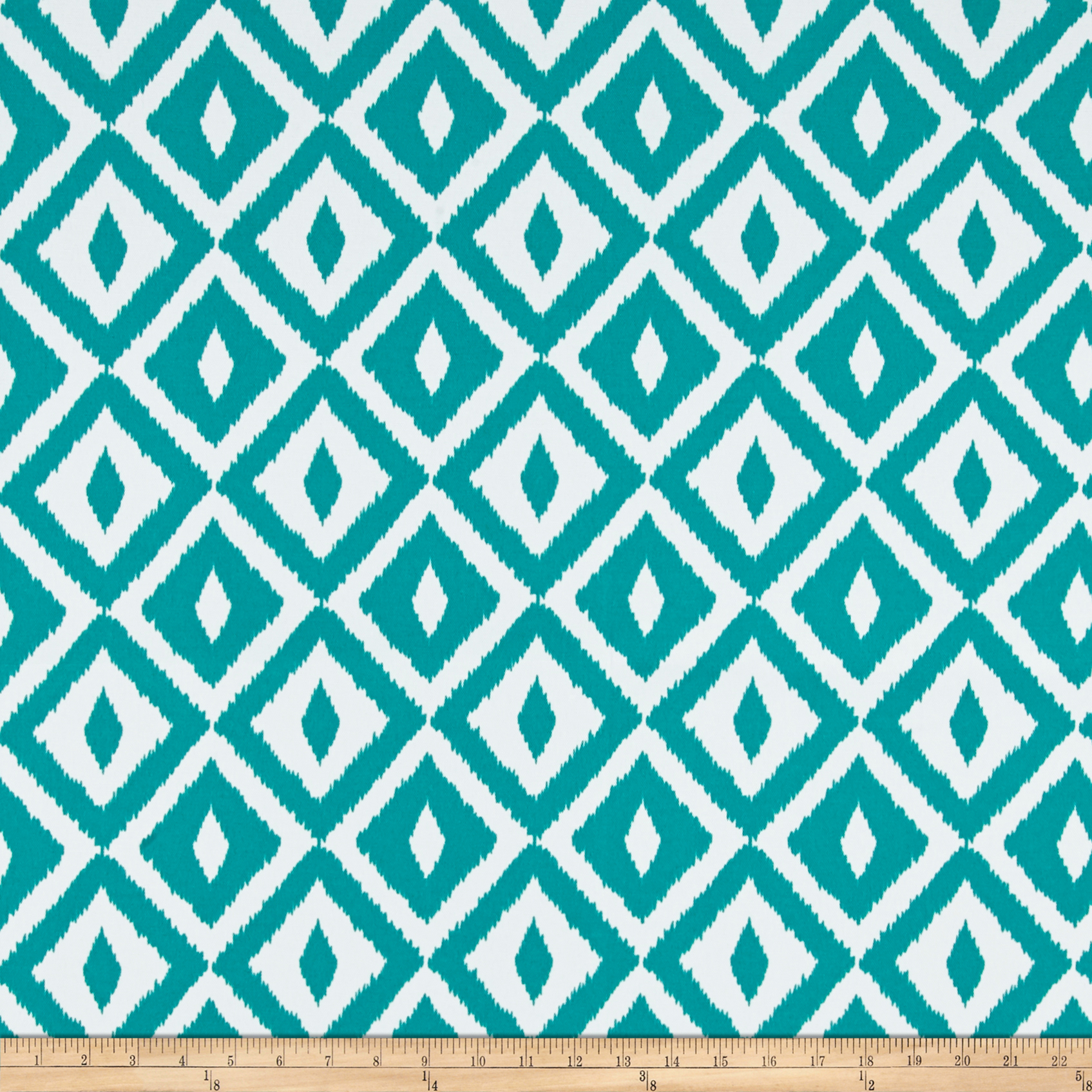 Terrasol Outdoor Aztec Teal Fabric by Tempro in USA