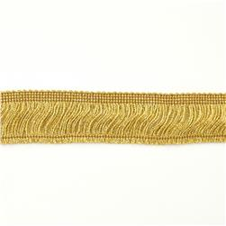 2'' Metallic Chainette Fringe Trim Gold