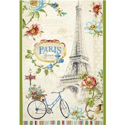"Paris Forever 24"" Large Panel Multi"