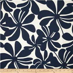 Premier Prints Indoor/Outdoor Twirly Deep Blue Fabric