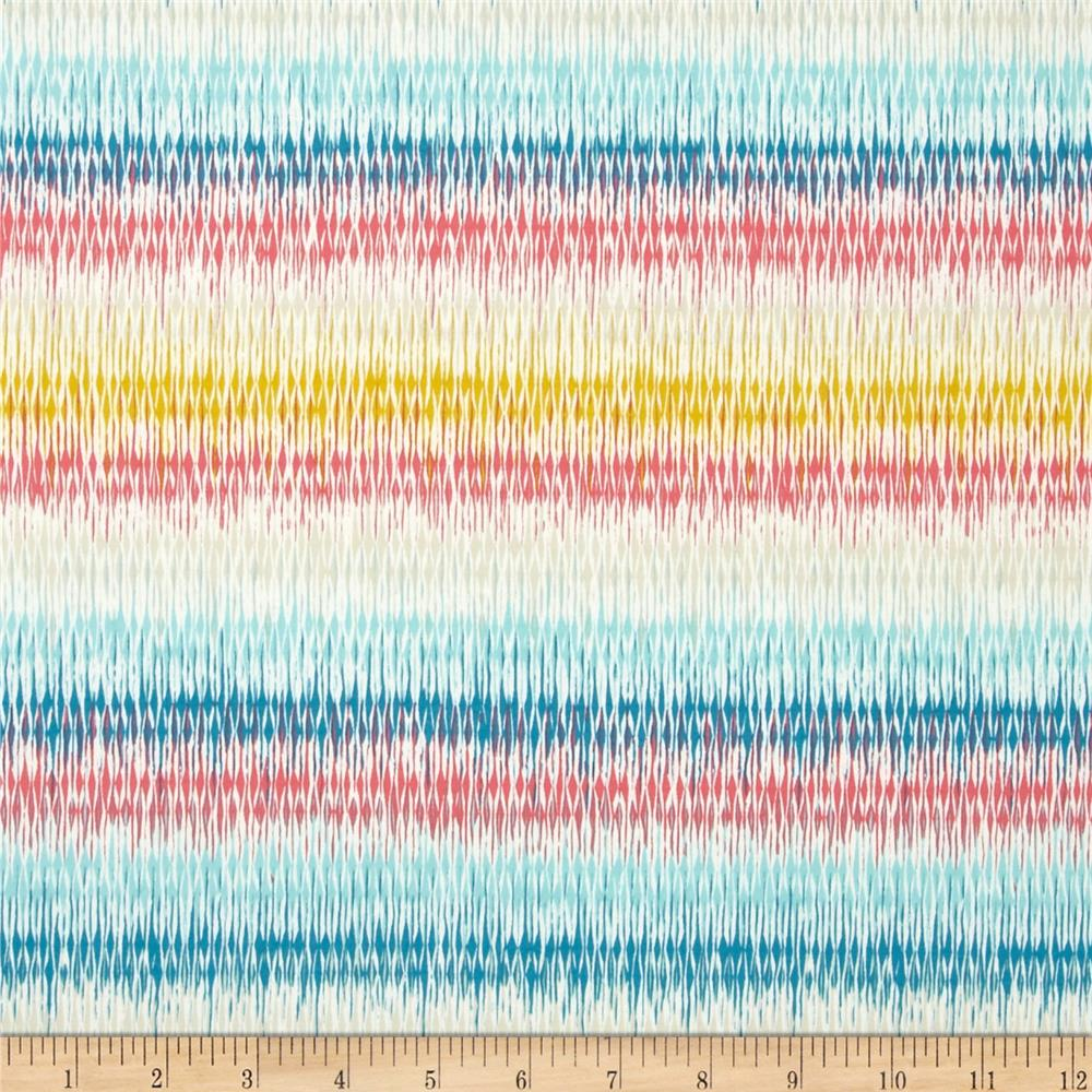 Art Gallery Etno Jersey Knit Looming Love Pastel Fabric