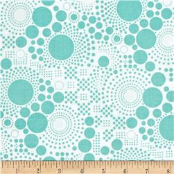 Riley Blake Hipster Pop Dot Aqua