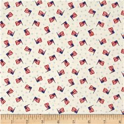 Mary Fons Small Wonders Americana Flag Cream