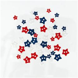 Favorite Findings Sew-on Buttons Mini Stars Traditional