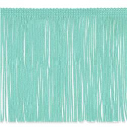 6'' Chainette Fringe Trim Mint Green