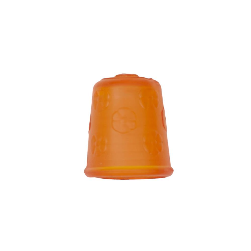 "Dill Rubberized Thimble 3/4"" Orange"