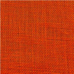 "47"" Shalimar Burlap Orange"