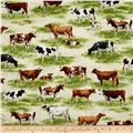 Kaufman Down on the Farm Animal Toille Natural