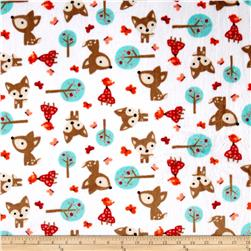Shannon Minky Cuddle Prints Oh, Deer Snow