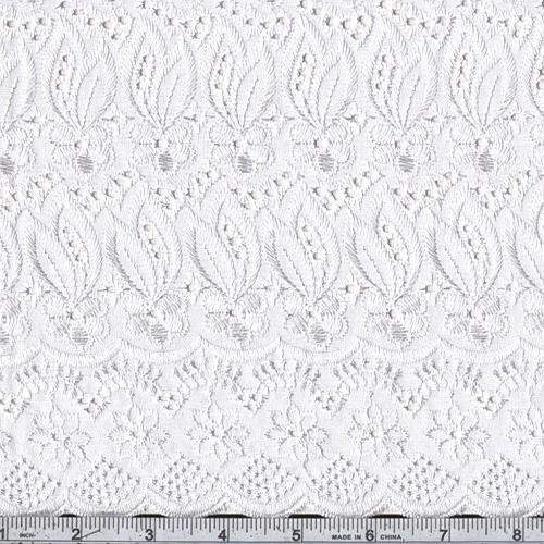 Fancy Eyelet White