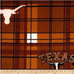 Collegiate Fleece University of Texas Plaid