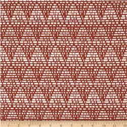 Duralee Home Tagine Upholstery Jacquard Red Fabric