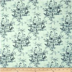 Berkley Square Toile Pale Blue