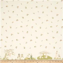 Lecien Kate Greenaway Border Print Cream