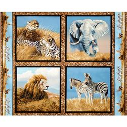 Wild Wings Kenyan Plains Pillow Panel