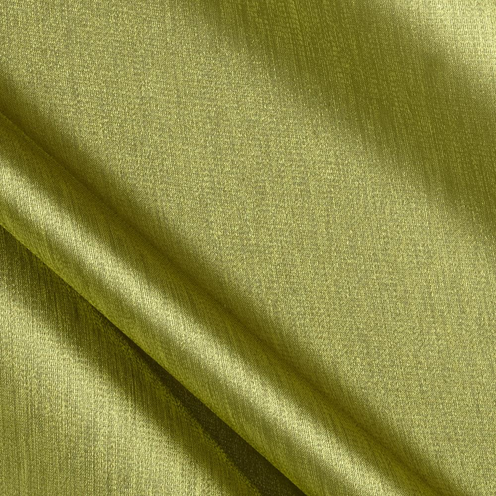Stretch Satin Organza Lime