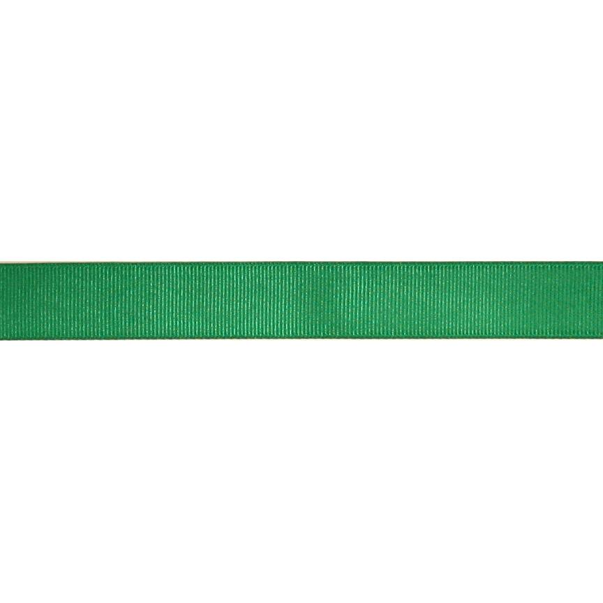 3/4'' Grosgrain Ribbon Kelly Green