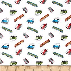 Lewis & Irene Small Things On The Move Trains White
