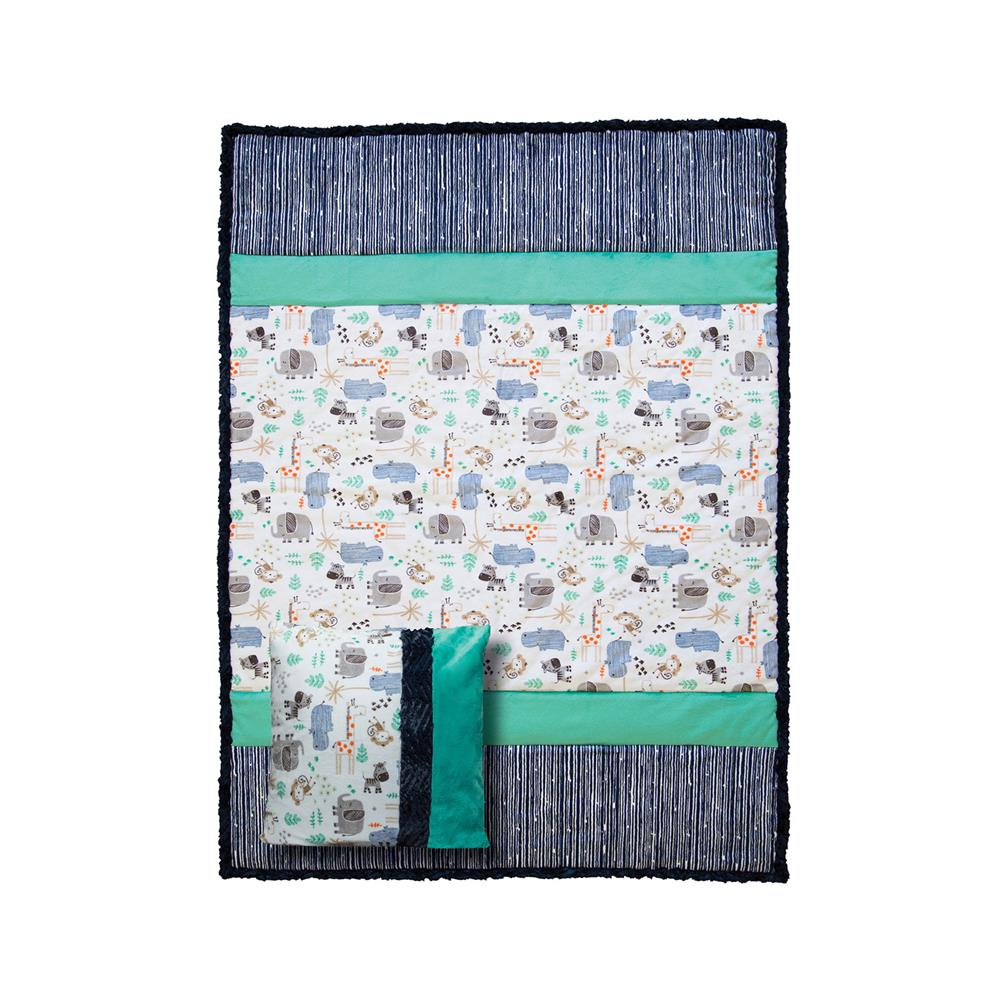 Shannon Minky Picture Perfect Cuddle Kit Animal House