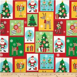 Ole Saint Nick Patchwork Multi